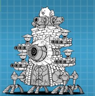 にゃんこ大戦争 かさじぞう第3形態『地蔵要塞ゼロカムイ』の評価は?